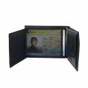 Портмоне кожаное мужское черное AKA 507/106 Турция