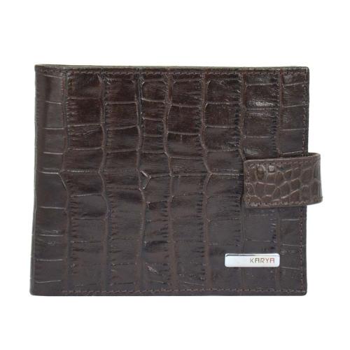Портмоне кожаное мужское KARYA 0440/204 Турция