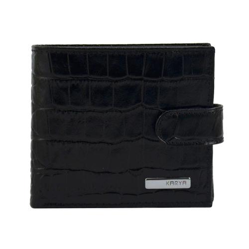 Портмоне мужское черное KARYA 0437/104 Турция