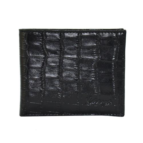 Портмоне мужское кожа черное KARYA 0905/104 Турция