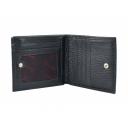 Портмоне мужское кожаное черное DESISAN 306/101 Турция