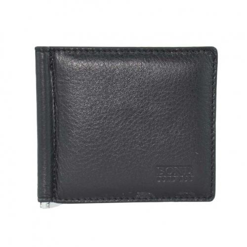 Зажим для денег кожаный BOND 554/101 Турция