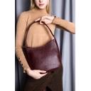 Черная сумка через плечо кожаная женская без клапана 2201/101 Украина