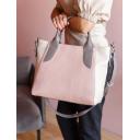 Женская сумка модная кожаная комбинированная 2458/141-221 Украина
