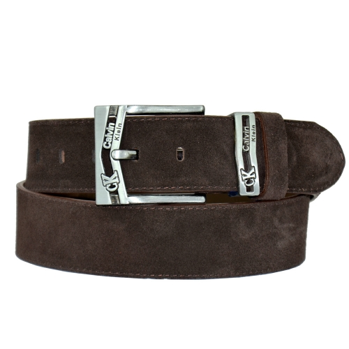 Ремень кожаный для джинсов Calvin Klein 216/208 Италия