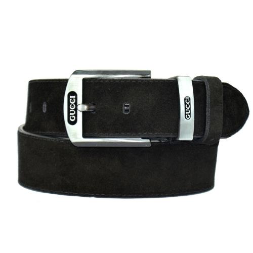 Ремень кожаный джинсовый GUCCI 210/108 Италия