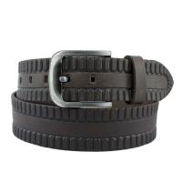 Ремень кожаный мужской джинс 01/UZ-202 Турция
