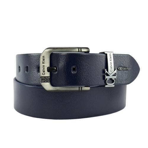 Ремень кожаный мужской джинс Calvin Klein 07/401 Италия
