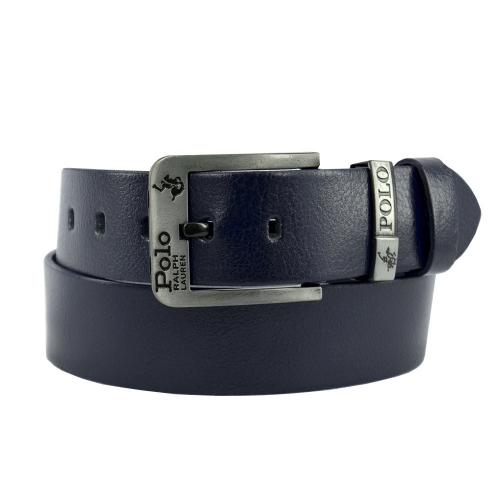 Ремень кожаный мужской джинс POLO 04/401 Италия