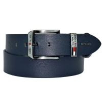 Ремень кожаный мужской джинс TOMMY HILFIGER 185/401 Турция