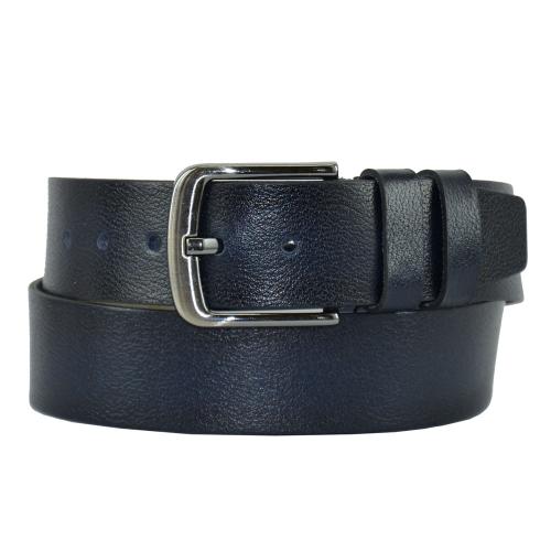 Ремень под джинсы синий 441/401 Турция