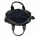 Большая сумка кожаная черная 057/101 Украина