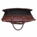 Бордовая сумка кожаная деловая 2621/311 Украина