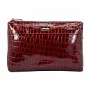 Бордовая сумка кожаная женская Karya 0759/315 Турция