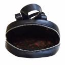 Городской рюкзак кожаный синий Karya 0741/401 Турция