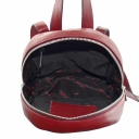 Городской рюкзак кожаный бордовый женский Karya 0741/311 Турция