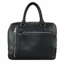 Кожаная сумка черная 054/101 Украина