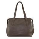Кожаная сумка 2062/201 Украина коричневая