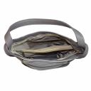 Кожаная сумка серая 2501/121-221 Украина