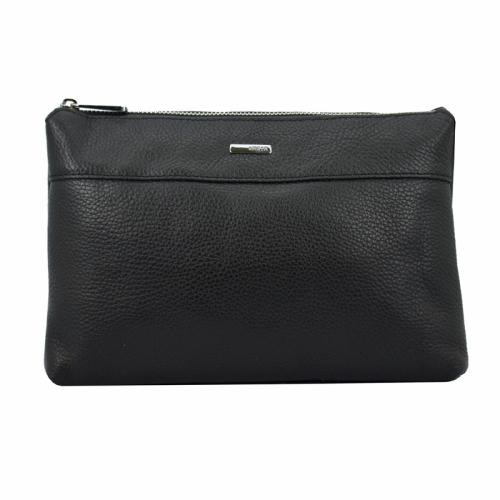 Кожаная сумка клатч черная Karya 0759/101 Турция