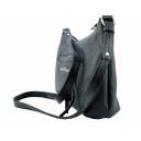 Кожаная сумка женская черная 1571/101 Украина