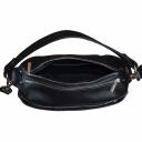 Кожаная сумка женская черная 2055/101 Украина
