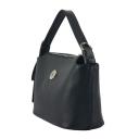 Кожаная сумка женская черная 2687/101 Украина