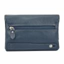Кожаная сумка женская синяя AKA 337/401 Турция