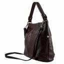 Кожаная сумка женская из натуральной кожи бордо 2175/311 Украина