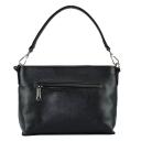 Кожаная женская сумка черная 2557/101 Украина