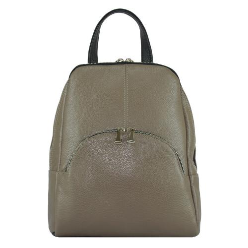 Кожаный рюкзак бежевый 2168/221-101 Украина