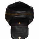 Кожаный рюкзак черный 2616/101 Украина