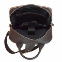 Кожаный рюкзак бежевый 2633/221-121 Украина
