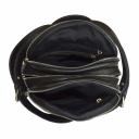 Кожаный рюкзак женский черный 2090/101 Украина