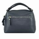 Красивая сумка кожаная женская синяя 2192Б/401 Украина