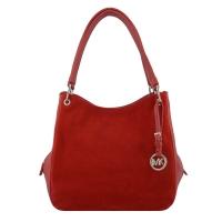 Красная сумка кожаная 990/301-308 Украина