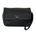 Маленькая сумка через плечо кожаная 1772/101 Украина черная