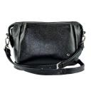 Маленькая сумка через плечо женская черная 2559/101 Украина