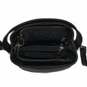 Маленькая сумочка женская черная 2164/101 Украина
