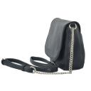 Маленькая женская сумка через плечо черная 1893/101 Украина