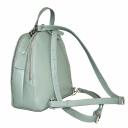 Модный рюкзак из натуральной кожи женский цвета ментол 1829/511 Украина
