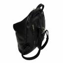 Рюкзак для города кожаный черный 2234/101 Украина