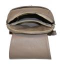 Рюкзак городской кожаный бежевый 2310/221 Украина