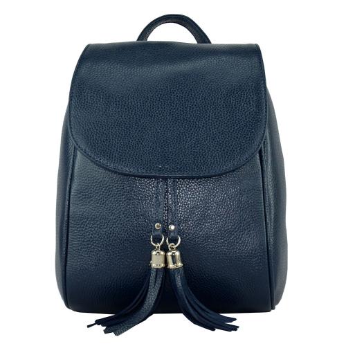 Рюкзак кожаный женский 2310/401 Украина синий