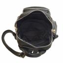 Рюкзак женский городской кожаный черный 2088/101 Украина