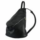 Рюкзак женский городской черный кожаный 2169/101 Украина
