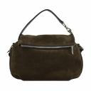 Шкіряна сумка жіноча коричнева 2593/208Б Україна
