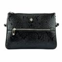 Шкіряна сумка жіноча чорна питон Karya 0800/109 Туреччина
