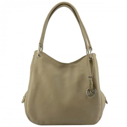 Шкіряна жіноча сумка бежева 990/221 Україна