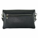 Шкіряна жіноча сумка чорна Karya 2121/101 Турція